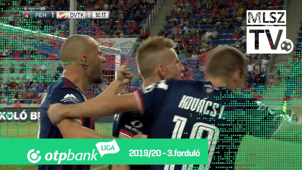 MOL Fehérvár FC – DVTK | 5-1 | (1-1) | OTP Bank Liga | 3 ...