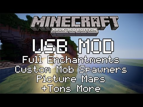 BEST* How to Mod Minecraft Xbox 360 With a USB EASY YouTube