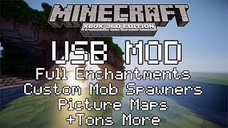 *BEST* How to Mod Minecraft Xbox 360 With a USB - EASY!!