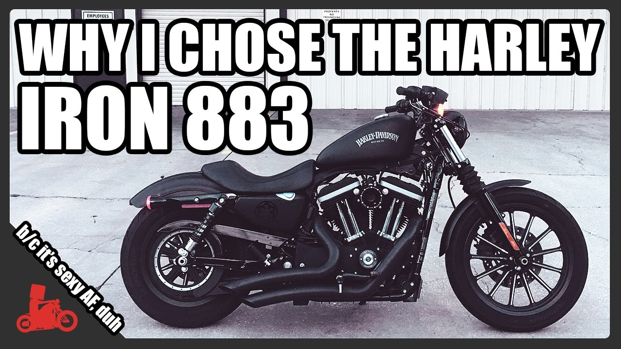 why i chose the harley sportster iron 883 youtube. Black Bedroom Furniture Sets. Home Design Ideas