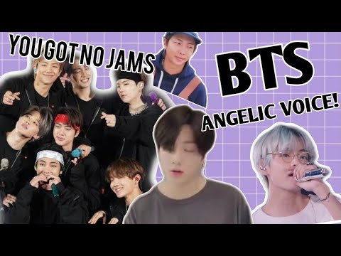 BTS having a ANGELIC VOICE / REACTION VIDEO (2019-2020 edition)