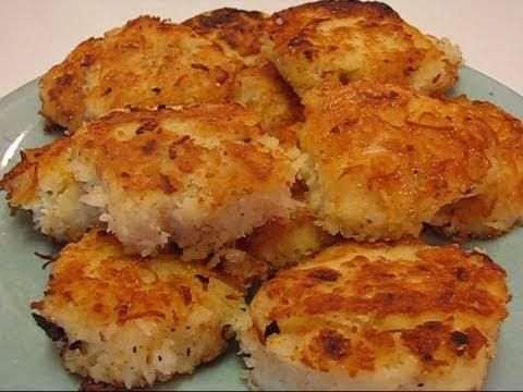 Betty's Simple Shredded Potato Patties - YouTube