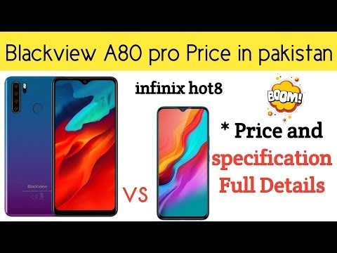 Blackview A80 Pro Price In Pakistan | Blackview A80 Pro Specification Full Details