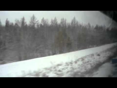 Перегон Речушка (≈445 км) - Видим (460 км)