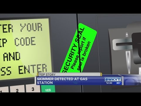 Credit card skimmer detected at Richmond gas station