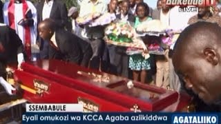 Eyali omukozi wa KCCA Agaba aziikiddwa thumbnail