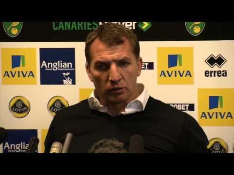 "CL-Quali? Brendan Rodgers: ""Gratulation an das Team"" | Norwich City - FC Liverpool 2:3"