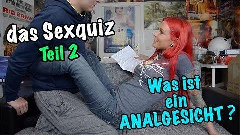 Lexy Roxx - Was ist ein Analgesicht ? Sexquiz mit Aaron Troschke TEIL 2