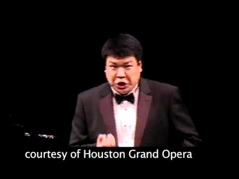 Houston Grand Opera - 2012 Concert of Arias - Third-place winner Peixin Chen