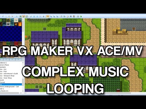 Complex Music Looping in RPG Maker VX Ace/MV