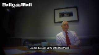 BBC's TV licence are exposed TV Licensing goon undercover Part 1 of 2