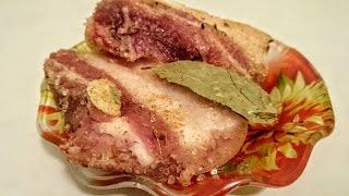 Вкусная засолка сала в домашних условиях рецепт Секрета как правильно солить сало быстро