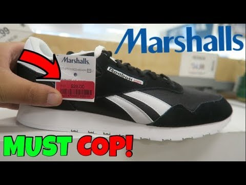 THE BIGGEST SNEAKER STEAL AT MARSHALLS! ONLY  28!!! - YouTube 5c14e6840