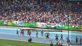 現地より。リオ五輪 陸上男子(100m × 4 予選 アジア記録達成の瞬間!)Rio de Janeiro Olimpic  Atsushi Ohata 大畑敦志