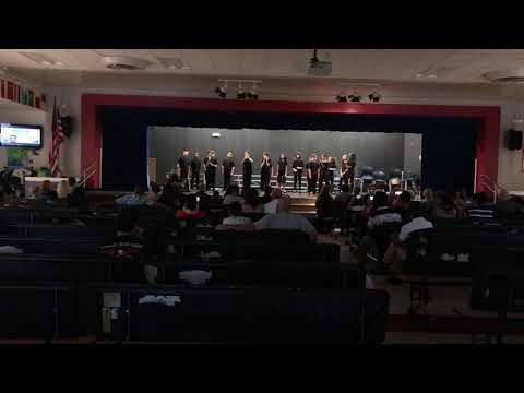 """""""Somebody that I Used to Know"""" by Gotye ft. Kimbra (a Cappella Cover) Aloma Elementary School (OCPS)"""