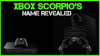 WOW! Xbox Scorpio's Retail Name Possibly Leaks And It's Awesome!
