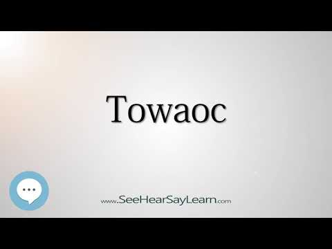Towaoc (How to Pronounce Cities of the World)💬⭐🌍✅