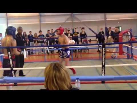 Marco coupe de Ligue Kick Boxing 2013 classe C