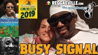 Gambar cover Busy Signal @ Wha' Gwaan Munchy?!? #51 [August 2019]