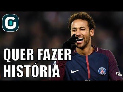 Neymar Quer Entrar Pra História Do PSG - Gazeta Esportiva (01/02/2018)