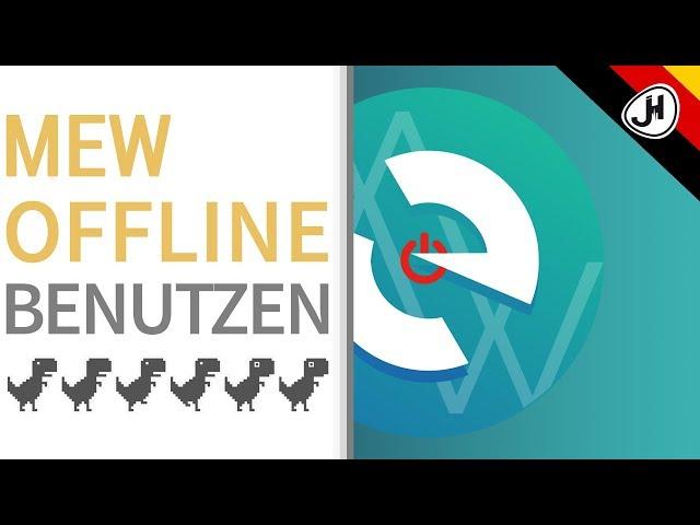 Wie verwendet man MyEtherWallet offline?