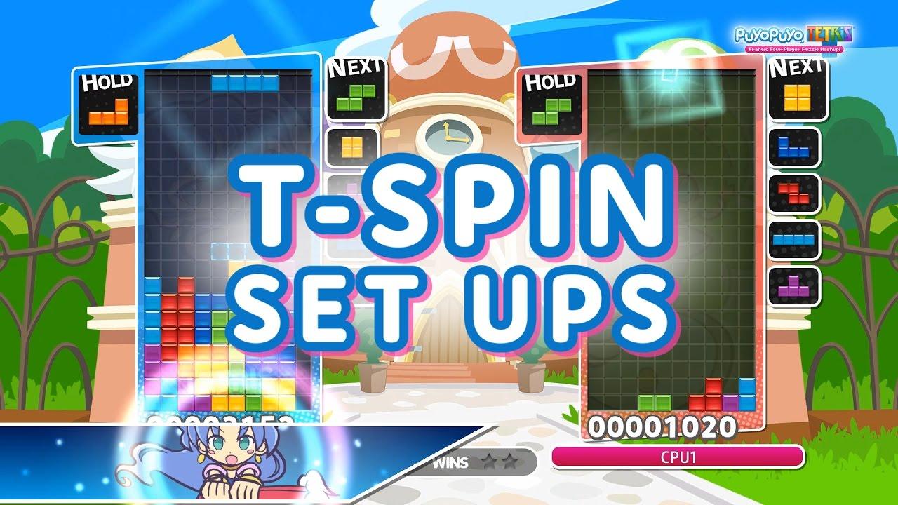 Puyo Tetris T Spin Set Ups Tutorial Youtube Game Nintendo Switch