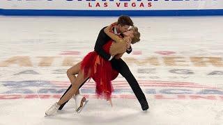 Александра Степанова - Иван Букин. Ритм-танец. Танцы. Skate America. Гран-при по фигурному катанию
