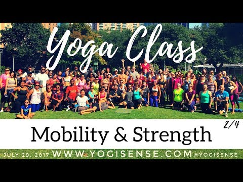Free Yoga Class at Discovery Green #2 ~ Mobility & Strength