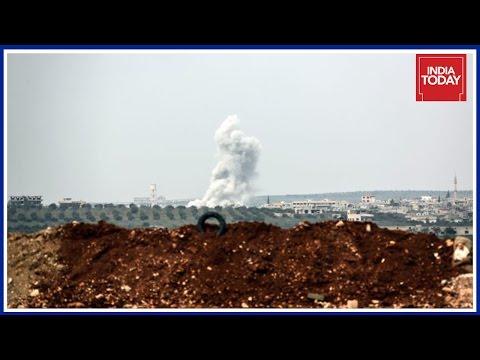 U.S Launches Air Strikes Against Assad Regime In Syria
