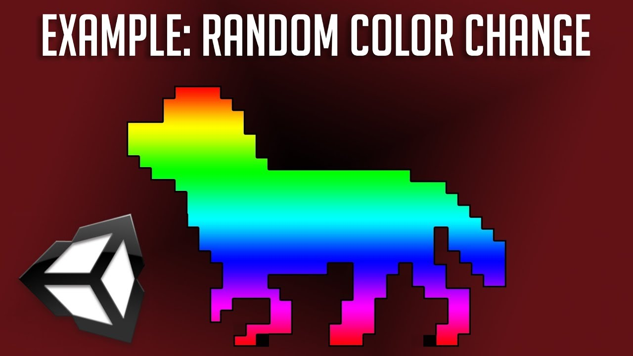 Code a MonoBehaviour - Random Color Changing - Beginners Unity 2018 C#  Script Tutorial