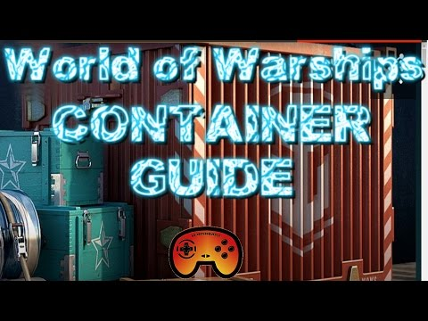 Der Container GUIDE - Der beste Container - World of Warships - Gameplay - German - Wows - Warships