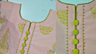 Beautiful neck design | easy to make | The Latest Design