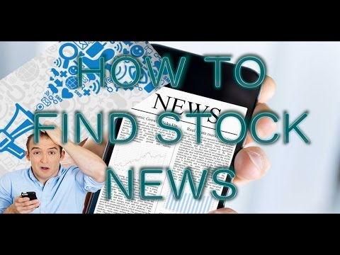 Day Trading/Options Trading Tutorial – How to find stock market news – TweetDeck Setup