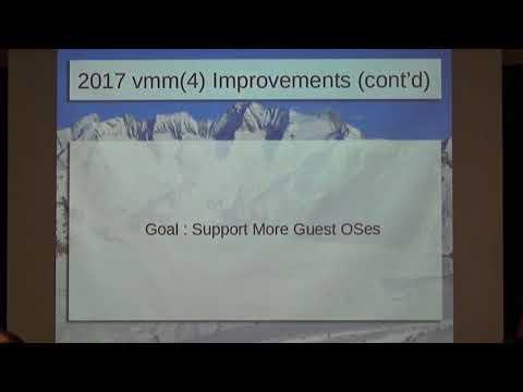 OpenBSD vmm Update -- Mike Larkin