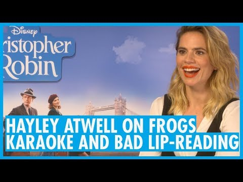 Hayley Atwell on Frogs, Karaoke and bad Lipreading