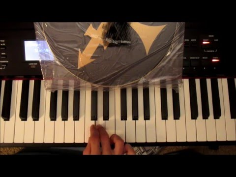 Prince When Doves Cry keyboard/piano solo tutorial (advanced level)