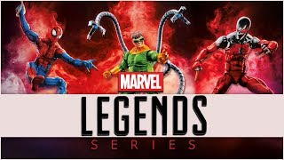 Marvel Legends: Spider-Man SP//dr BAF Wave Review