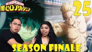 My Hero Academia Season 3 Episode 25 Reaction And Review MIRIO VS CLASS 1A AMAZING SEASON FINALE