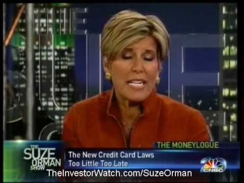 suze orman how to take control over your credit cards Women and money: owning the power to control your destiny by suze orman the million-copy bestseller is finally in paperback in this groundbreaking book, suze orman, the nation's go-to expert on all things financial, investigates the complicated, dysfunctional relationship women have with money.