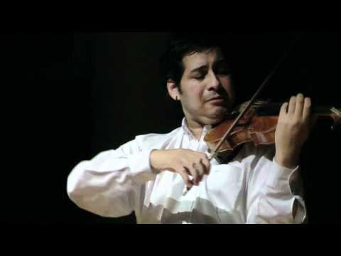 Rodrigo Bauza - Tea for Two. Jazz Violin Solo