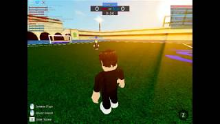 Playing fifa street in roblox :V