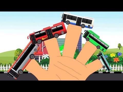 stadt-bus-finger-familie- -kinderreime-gedicht-für-kinder- -lied-für-kinder- -deutsch-finger-familie