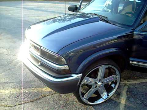 BLAZER ON 24'S - YouTube