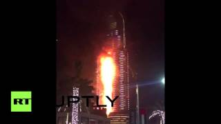 UAE: Blaze engulfs 5-star Dubai hotel near massive NYE fireworks display