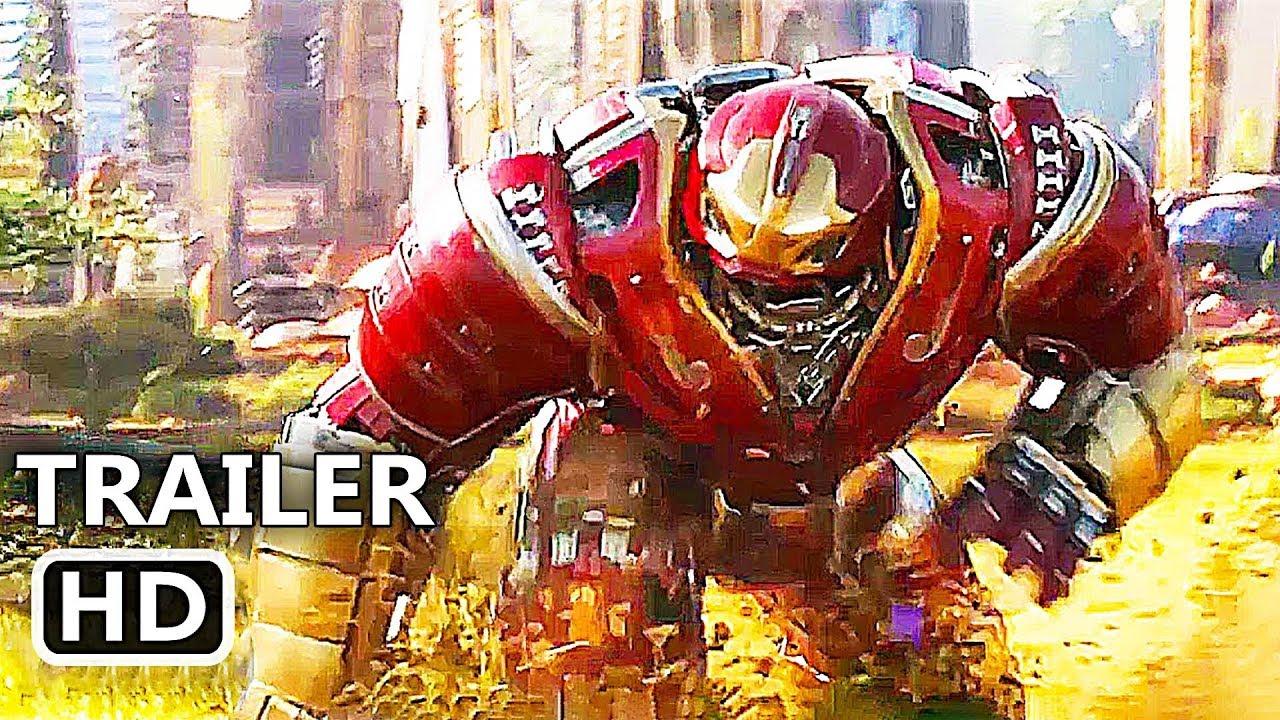 AVENGERS 3 INFINITY WAR Extended Trailer 4K ULTRA HD (2018 ...