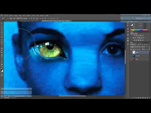 Tutorial Photoshop. Transformarse En Avatar (recomendación: Verlo En HD)