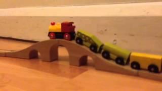 Ikea Wooden Train Set With Brio Engine