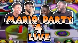 THE BEST GAME OF MARIO PARTY OF ALL TIME! RDC STREAMS MARIO PARTY FOR THE FIRST TIME!