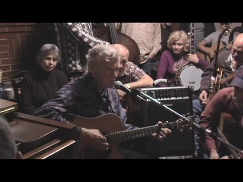 Doc Watson & Jeff Little playing Old, Old House