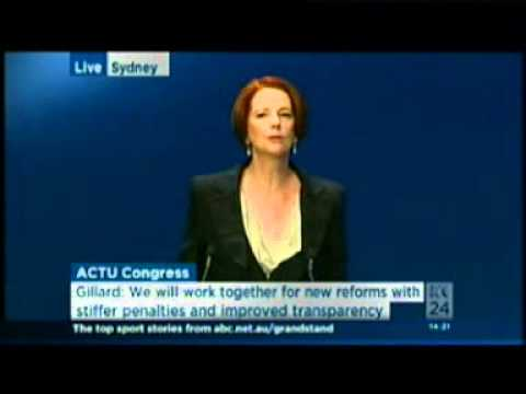 Address to the Australian Council of Trade Unions Congress